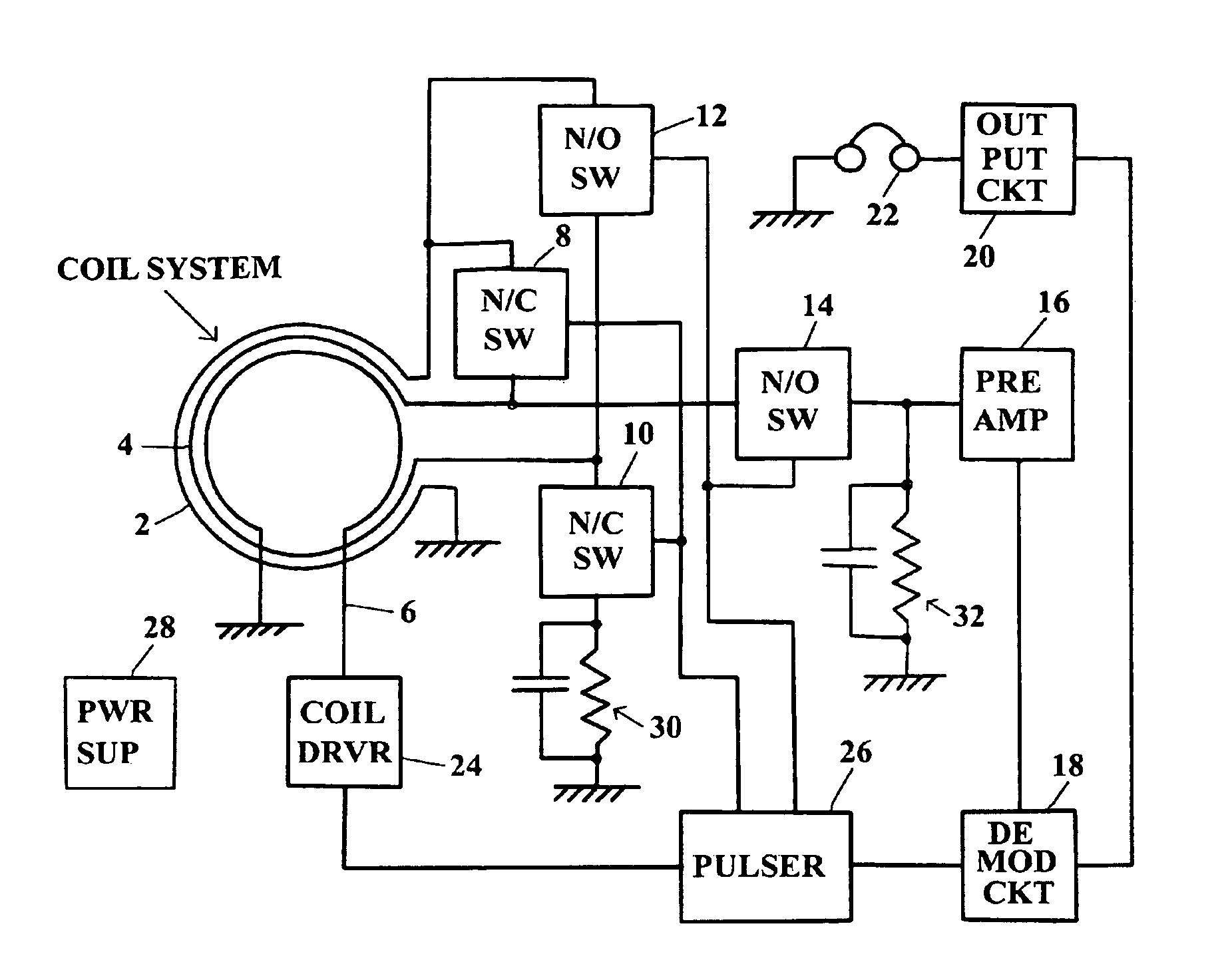pulse detection circuit
