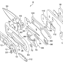 Parts Of A Pocket Knife Diagram Trailer Wiring Diagrams 7 Pin Round Patent Us7676931 Folding Google Patents