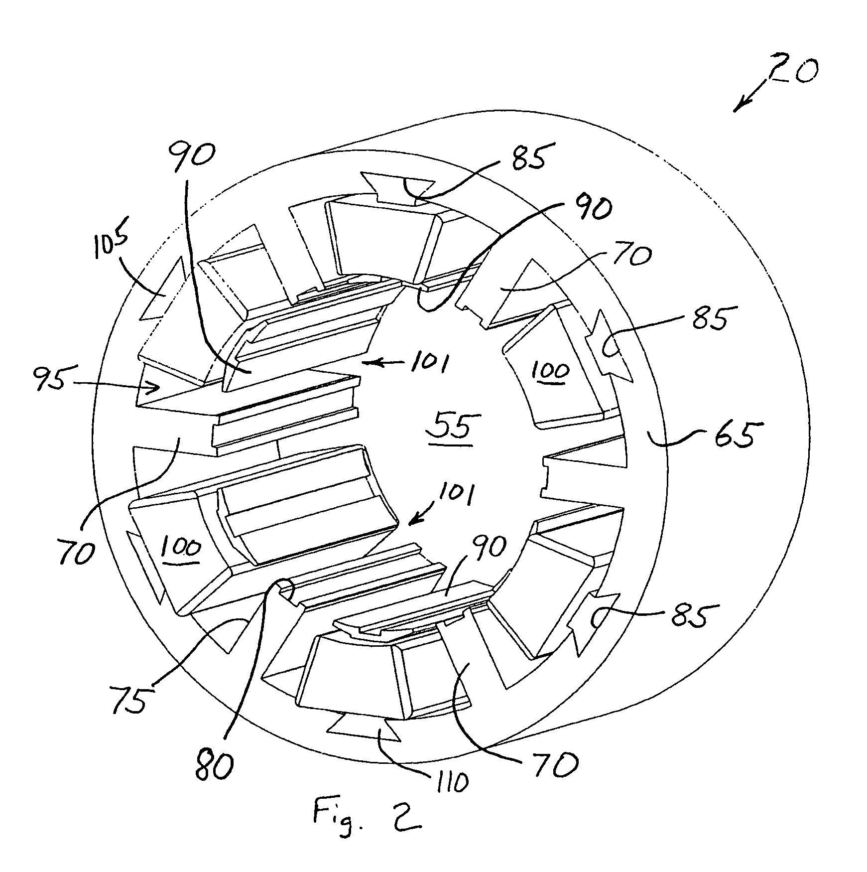 Submersible Motor Winding Design