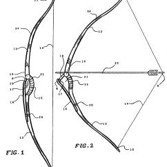 Compound Bow Diagram Golf Cart Starter Generator Wiring Patent Us7740011 Archery Google Patents
