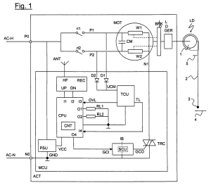 Patent US7746015  Method for feeding an operating motor