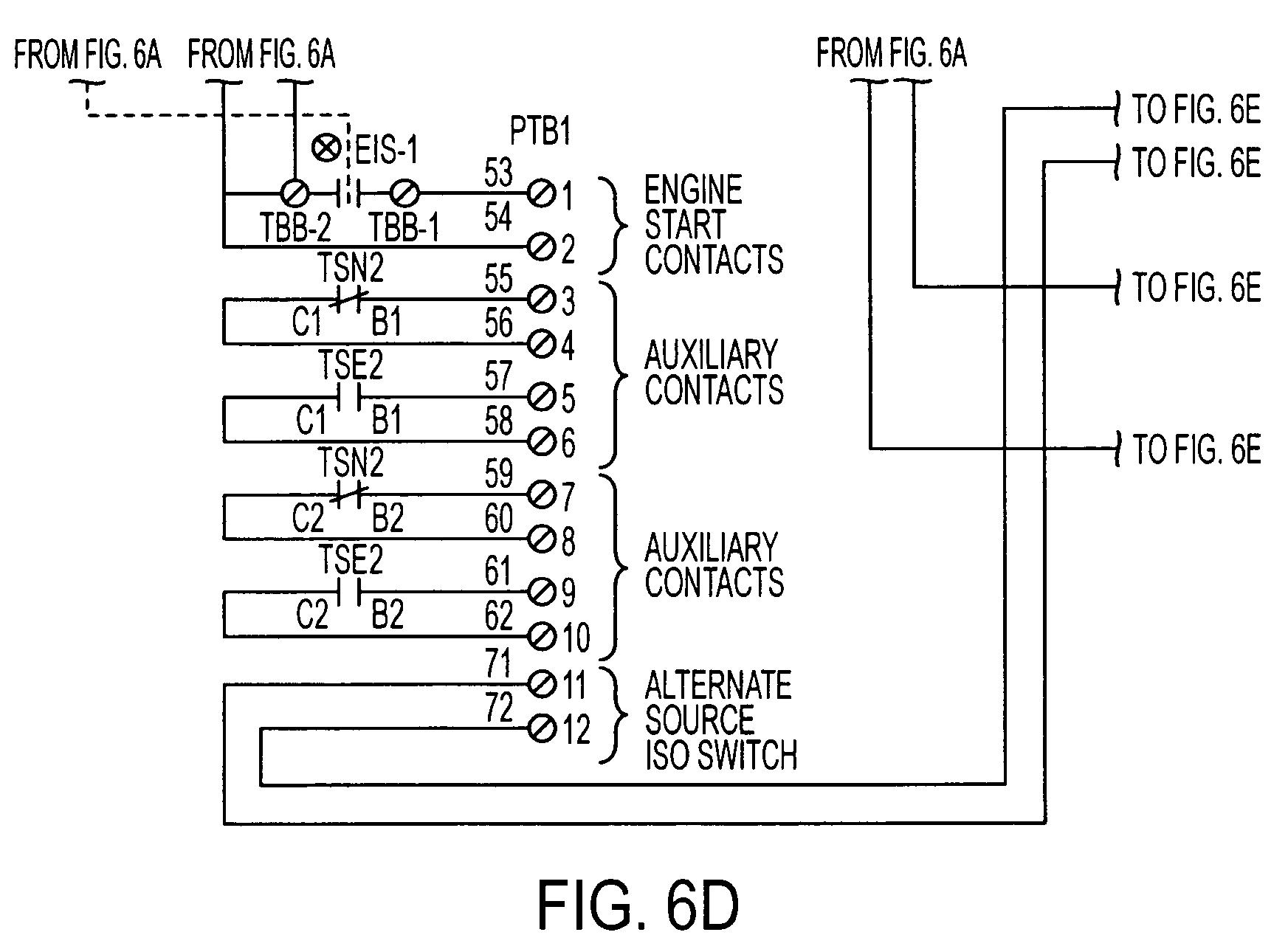 fire pump wiring diagram 1966 mustang under dash transfer switch