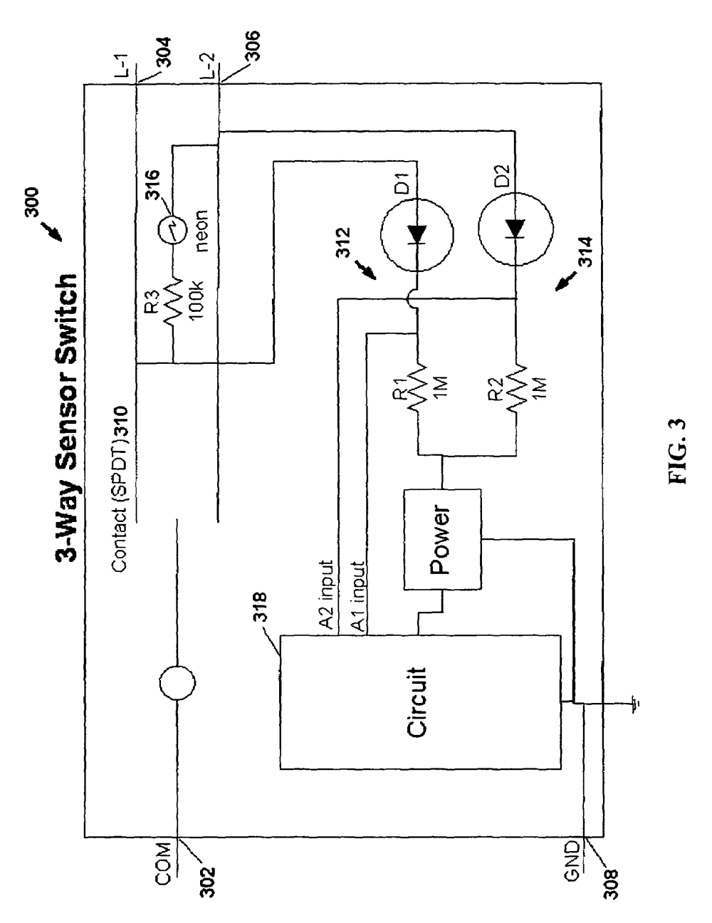 medium resolution of  us07791282 20100907 d00003 patent us7791282 motion sensor switch for 3 way light circuit at aneh