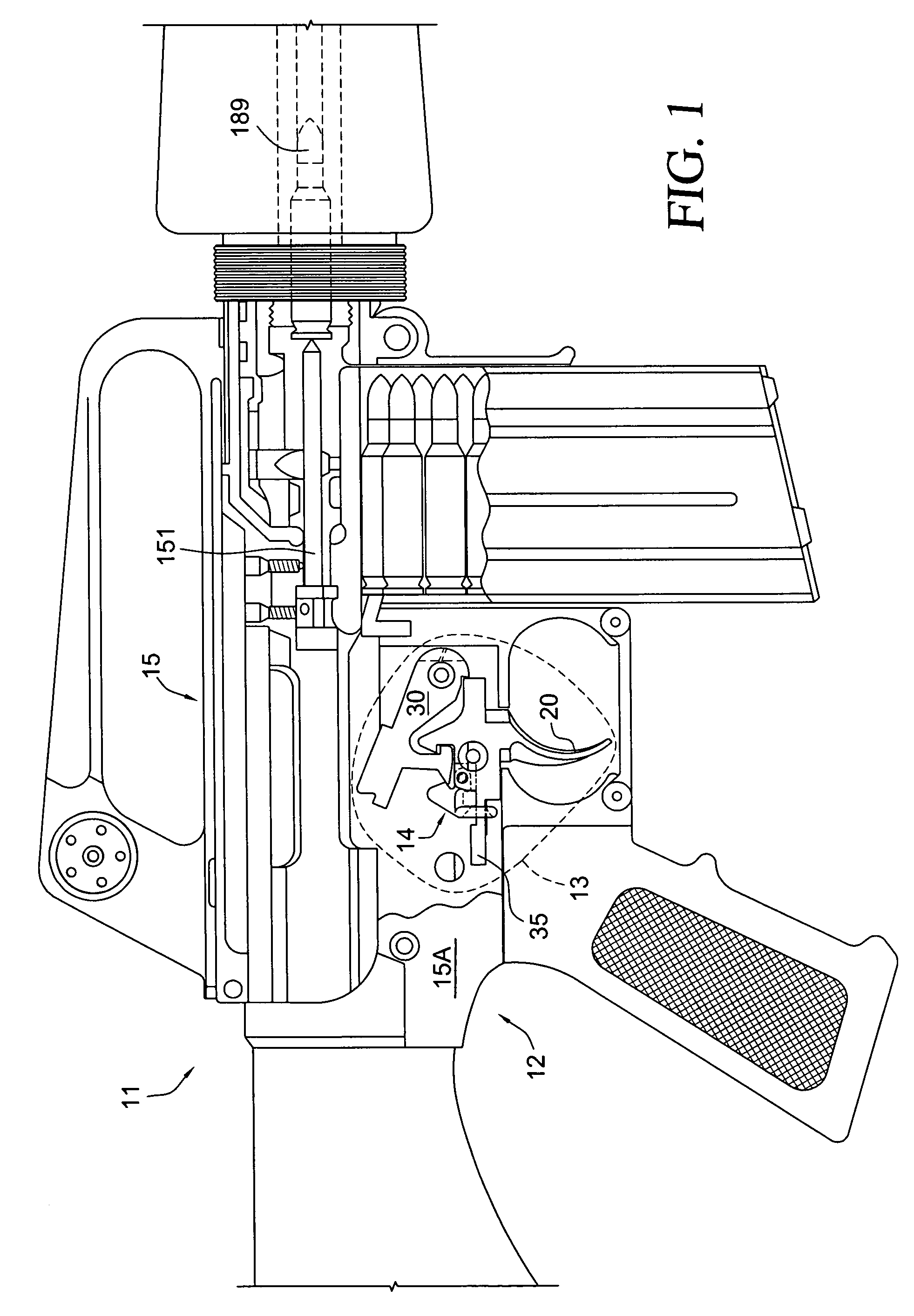 m16 upper receiver assembly diagram cb750 simplified wiring patent us7854084 ar15 t400 hook under trigger
