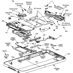 Iphone 4 Disassembly Diagram Mk4 Golf Light Switch Wiring 5s Exploded Parts At A Glance