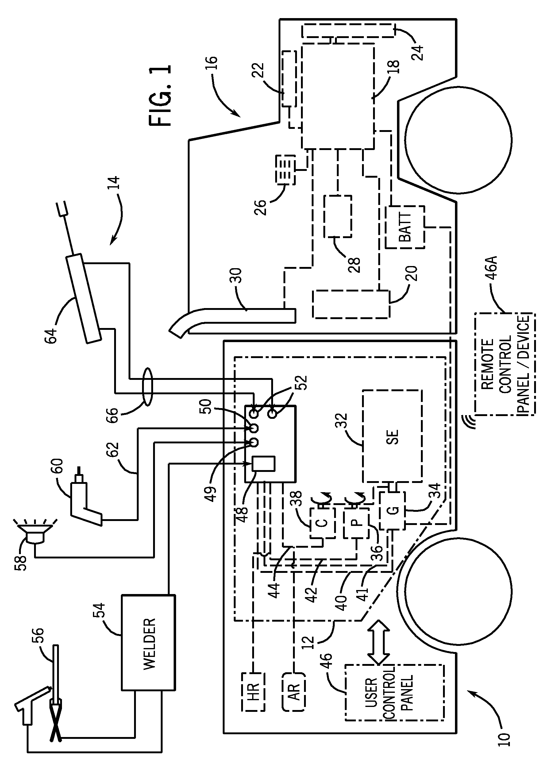 lowrider hydraulic pump wiring diagram photosynthesis stages patent us7870915 auxiliary service pack for a work