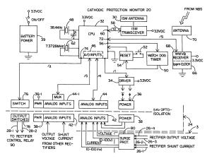 Patent US7884626  Cathodic protection monitor  Google