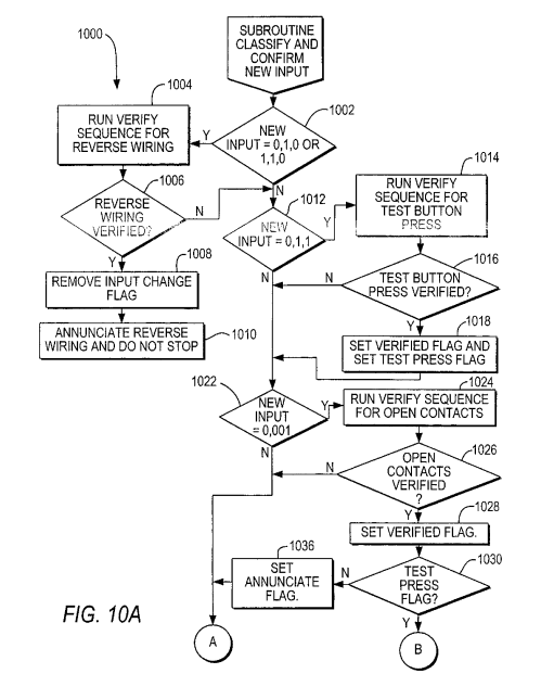small resolution of wiring a gfci outlet in a series additionally patent us7911746 gfci