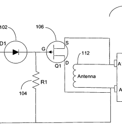 rfid schematic circuitdata mx tl integrated circuit and method to secure a rfid tag google patents [ 1768 x 971 Pixel ]
