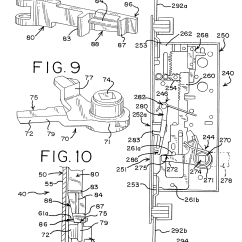Mortise Lock Parts Diagram Scosche Wiring Patent Drawing
