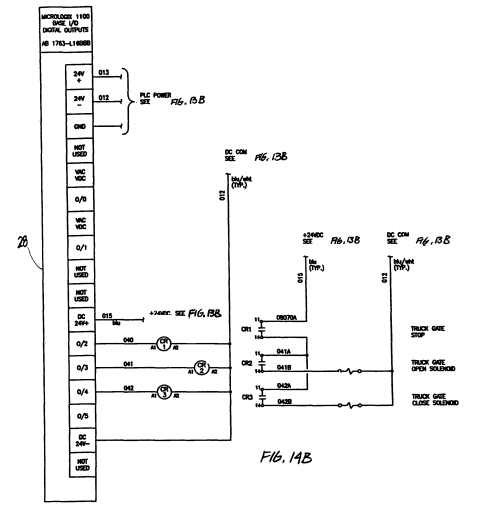 small resolution of patent us7980636 automated gate control and methods google patents