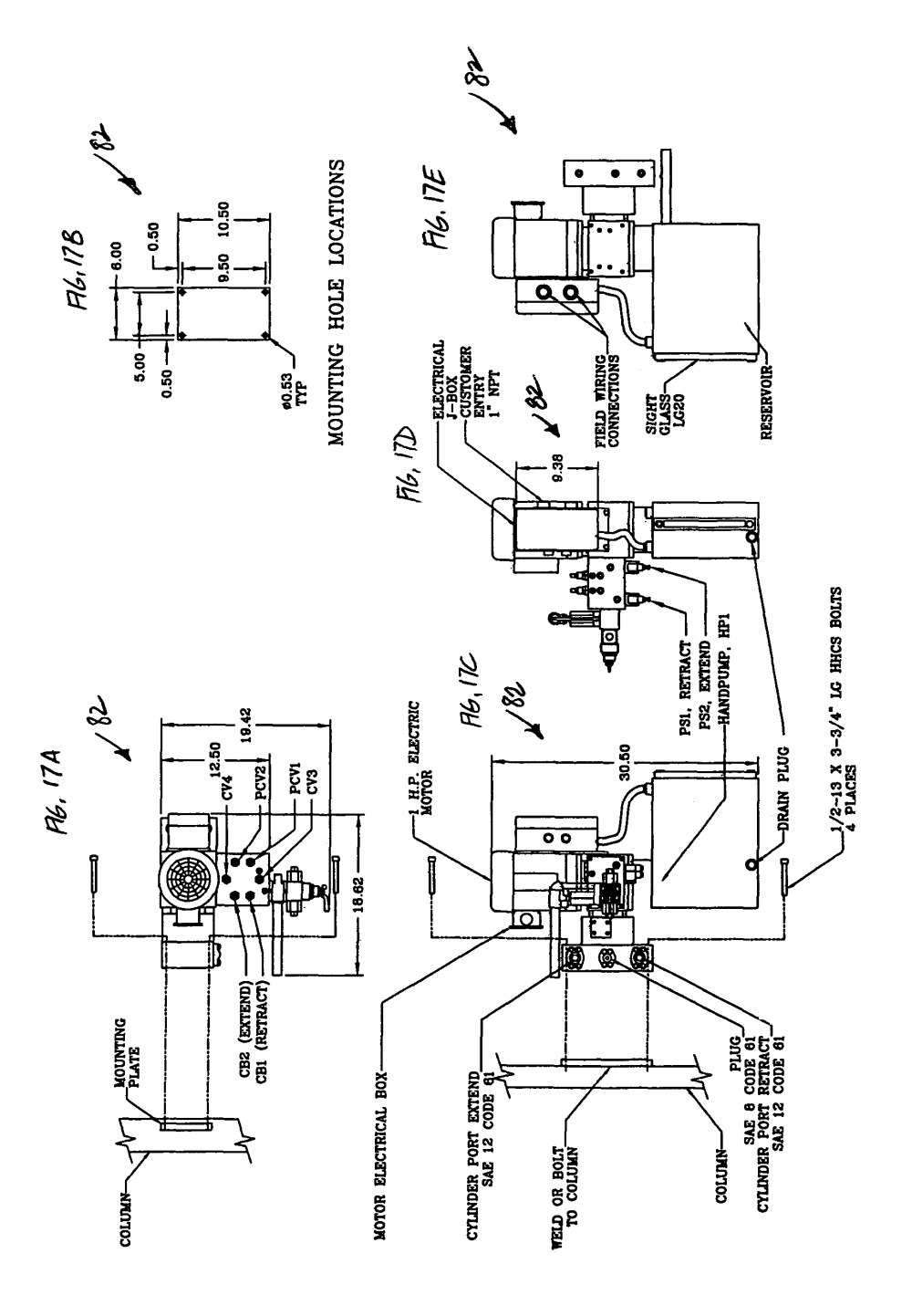 medium resolution of patent us7980636 automated gate control and methods