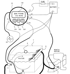 patent us adjustable cycle timer control for aerators patent drawing boat aerator wiring diagram  [ 2082 x 2951 Pixel ]