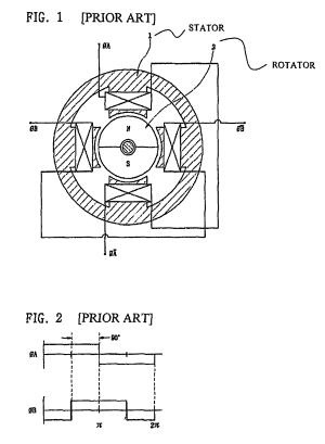 Patent US8004141  Twophase brushless DC motor  Google