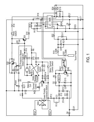 Patent US8008812  Paper shredder control system