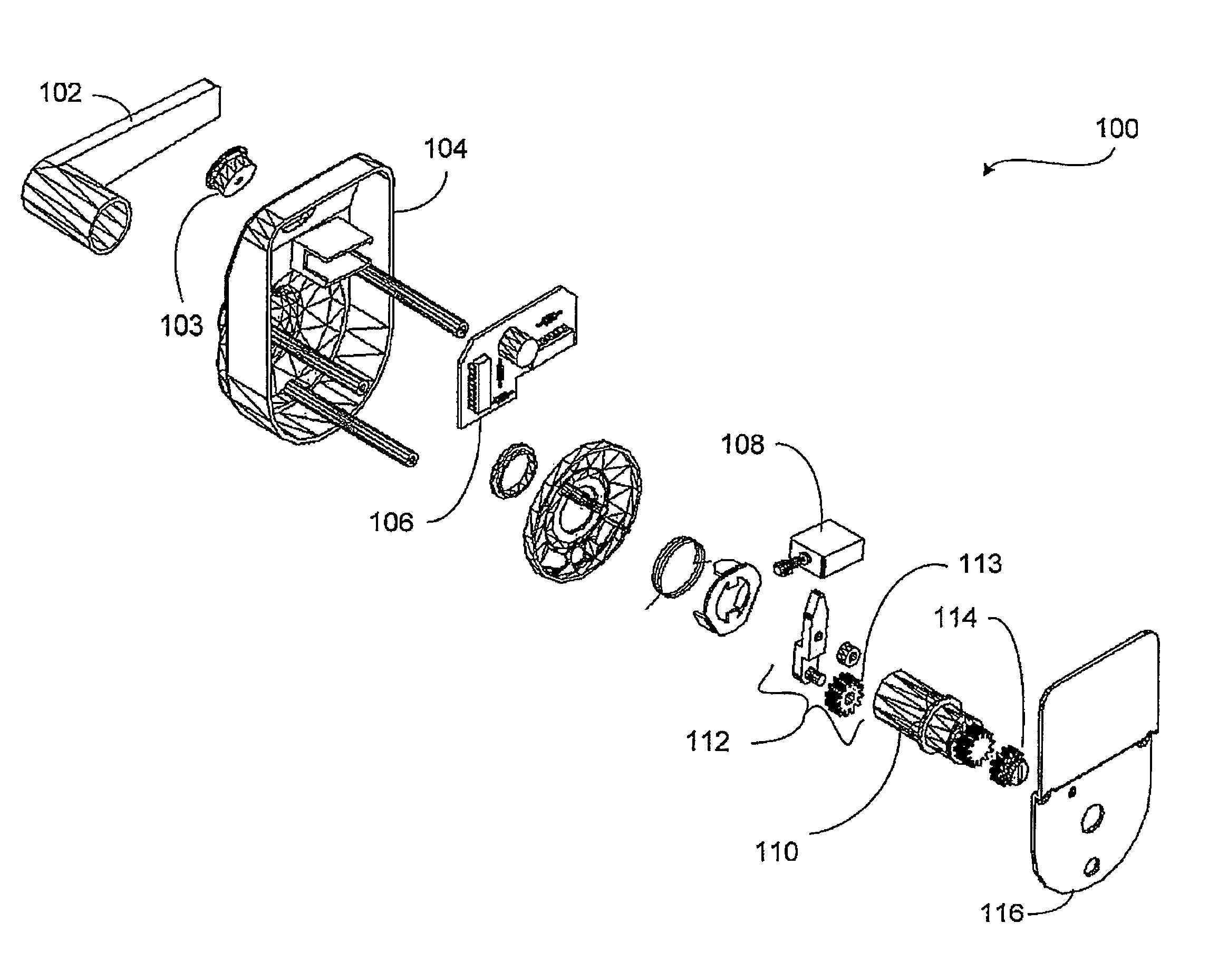 Schlage Lock Parts Diagram