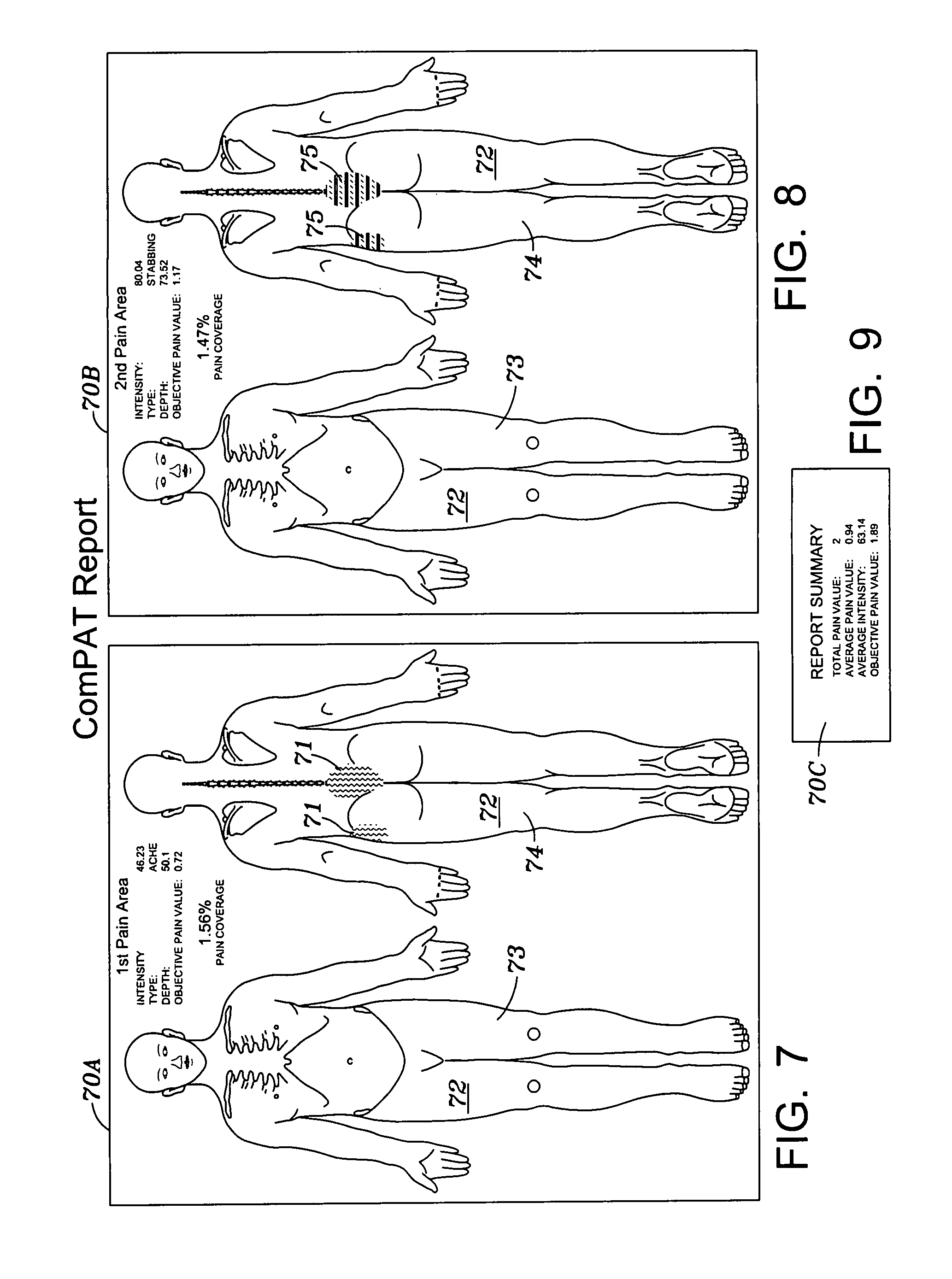 skin assessment diagram 2005 ford f150 remote start wiring patent us8046241 computer pain tool google