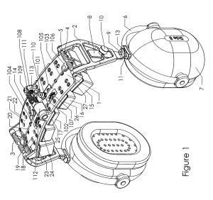 Patent US8050444  Adjustable mechanism for improving