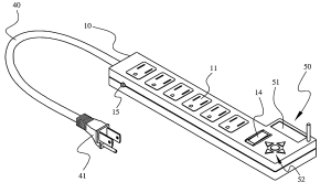 Patent US8129859  Extension cord with wireless timing function  Google Patents