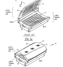 patent us8157849 tanning bed with an air filter google patentstanning bed google patents on tanning bed [ 1833 x 2588 Pixel ]