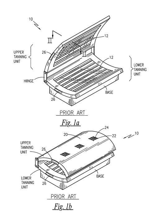 small resolution of patent us8157849 tanning bed with an air filter google patentstanning bed google patents on tanning bed