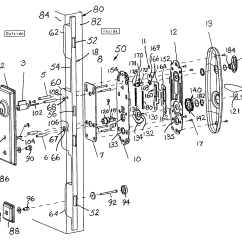 Door Lock Diagram Best Place To Shoot A Deer Patent Us8161780 Thumb Operated Assembly