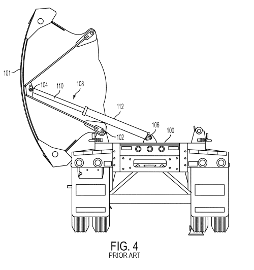 small resolution of patent us8220874 dump device for side dump trailer google patents