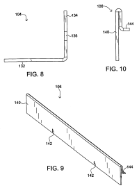 Patent US8239974 - Elongated shower drain - Google Patents