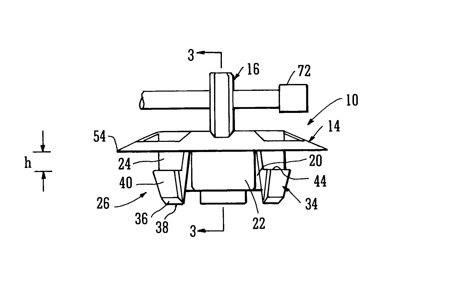 hight resolution of patent us8261409 grommet google patents patent us6660937 grommet for automotive wiring harness google