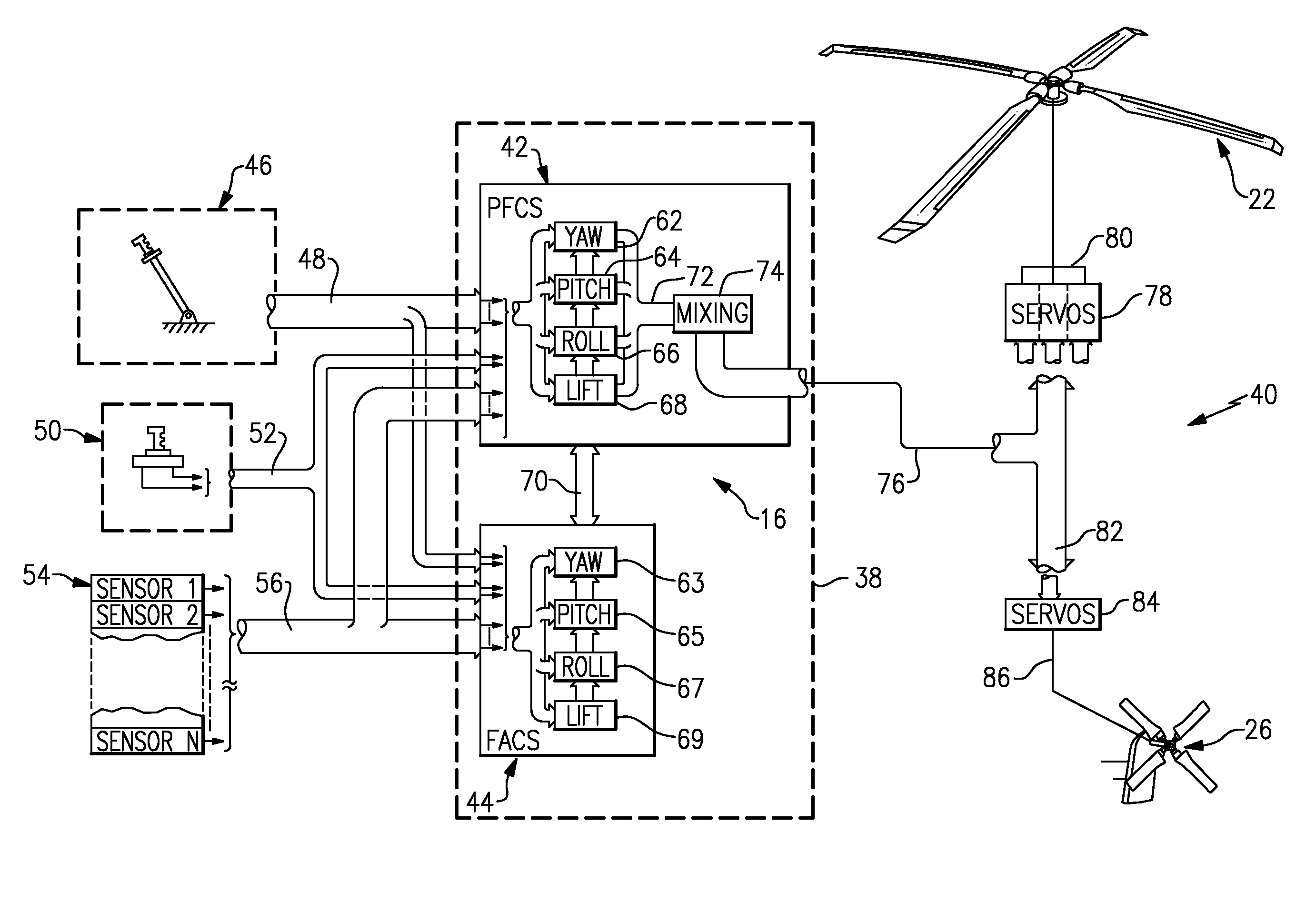 Aircraft Control Block Diagram Of Engine H2 Wiring-diagram