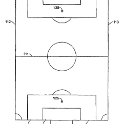 Diagram Of Football Ground With Measurements Chevy Trucks 4 Door Patent Us8277342 Modified Soccer Game Google Patents