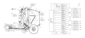 Patent US8291687  Continuous round baler  Google Patents