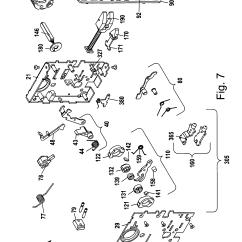 Mortise Lock Parts Diagram Trailer Plug Wiring Us Patent Us8292336 Assembly Google Patentler