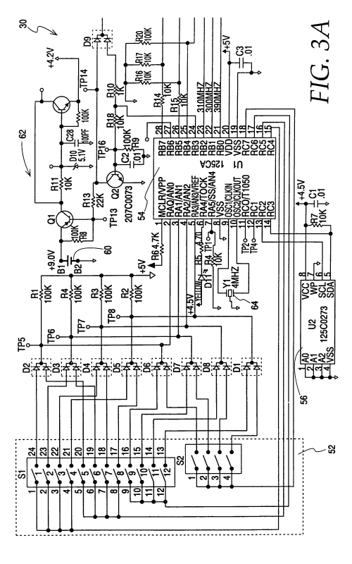 small resolution of patent us8325008 simplified method and apparatus for garage door safety sensors schematic garage door schematic diagram