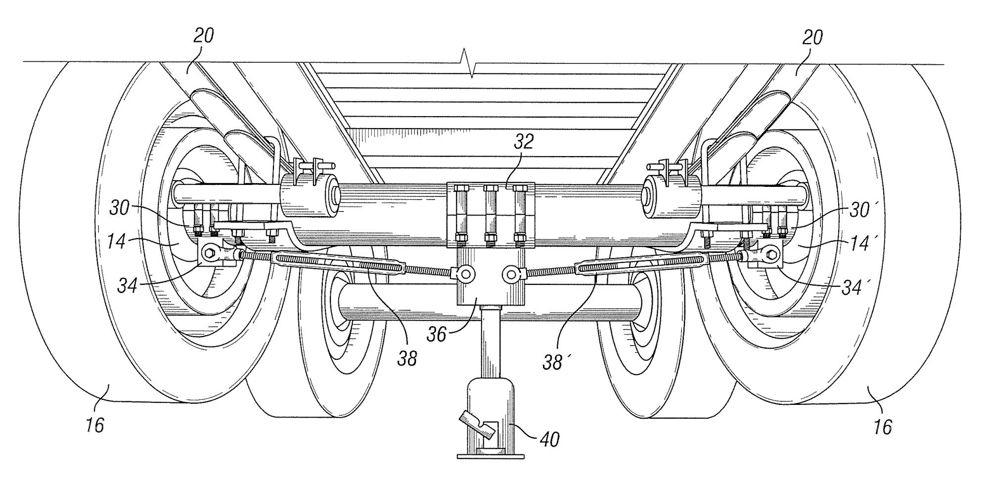 hight resolution of brevet us8333015 method for adjusting axle camber google brevets tractor trailer axles diagrams