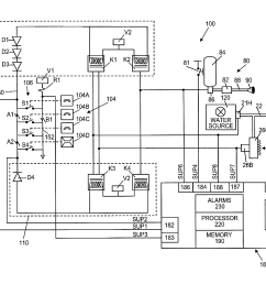 patent us8378834 kitchen hood assembly with fire suppression [ 2533 x 2050 Pixel ]