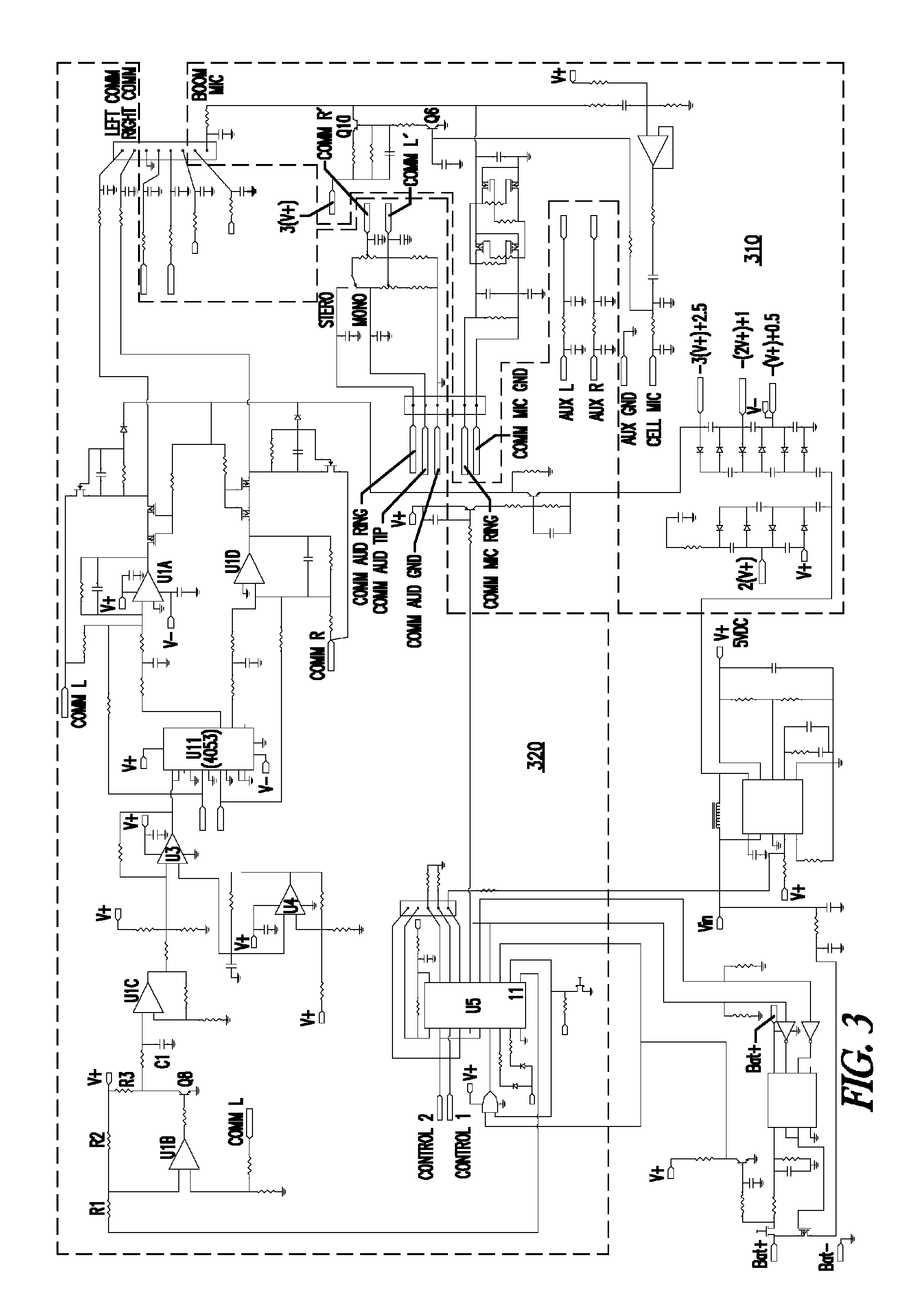 headset circuit diagram