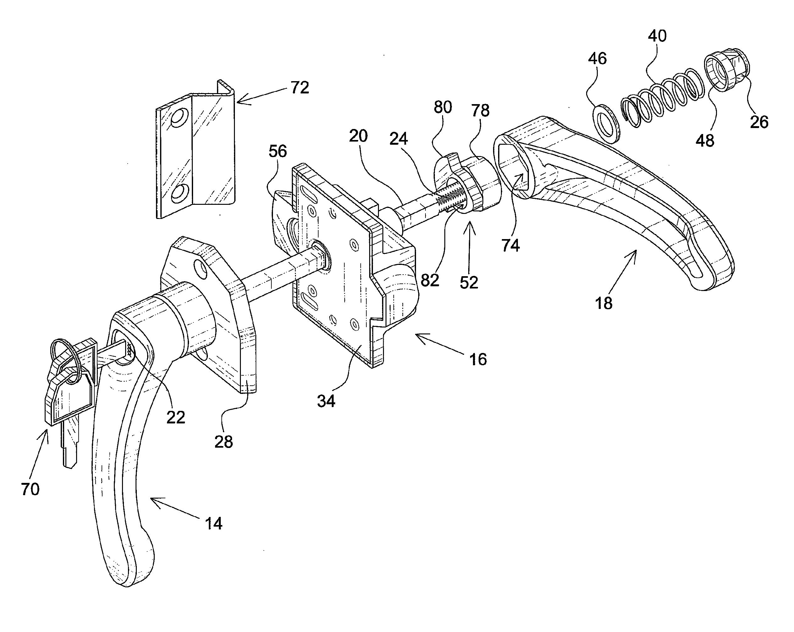 door handle parts diagram fender elite stratocaster hss wiring kwikset knob imageresizertool com