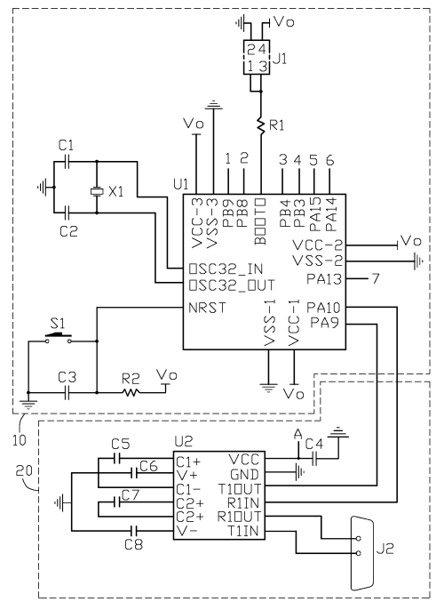 small resolution of patent us8452905 serial port remote control circuit google patents