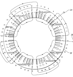 11 pole stator wiring diagram [ 1854 x 1827 Pixel ]