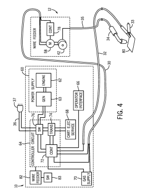 Patent US8476555  Portable welding wire feed system and method  Google Patents