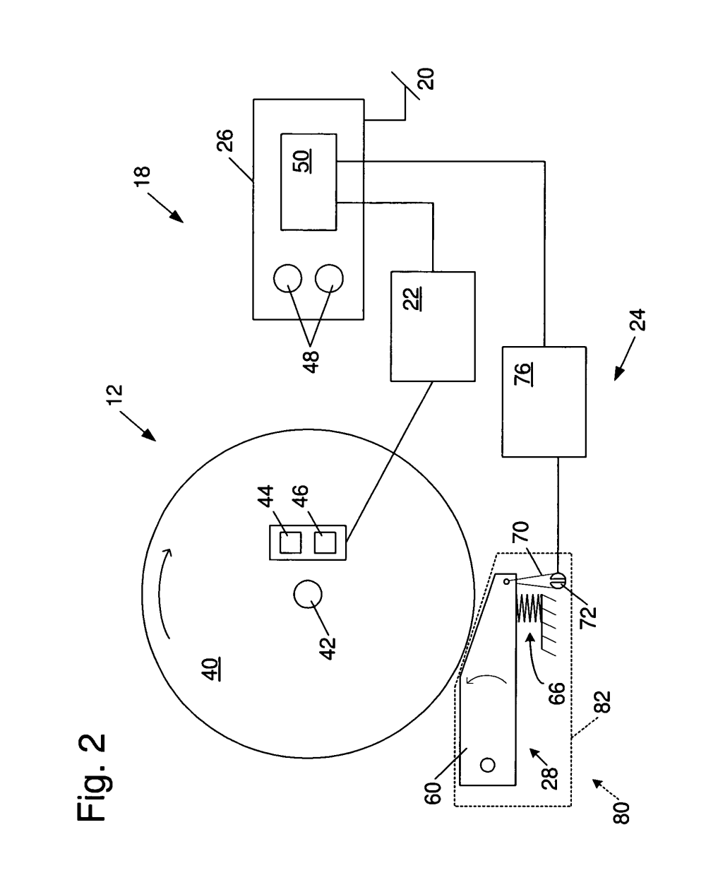 medium resolution of us08505424 20130813 d00002 patent us8505424 table saws with safety systems and systems to table saw switch wiring diagram