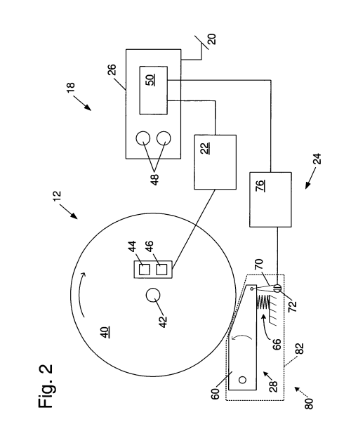 small resolution of us08505424 20130813 d00002 patent us8505424 table saws with safety systems and systems to table saw switch wiring diagram 31 wiring diagram