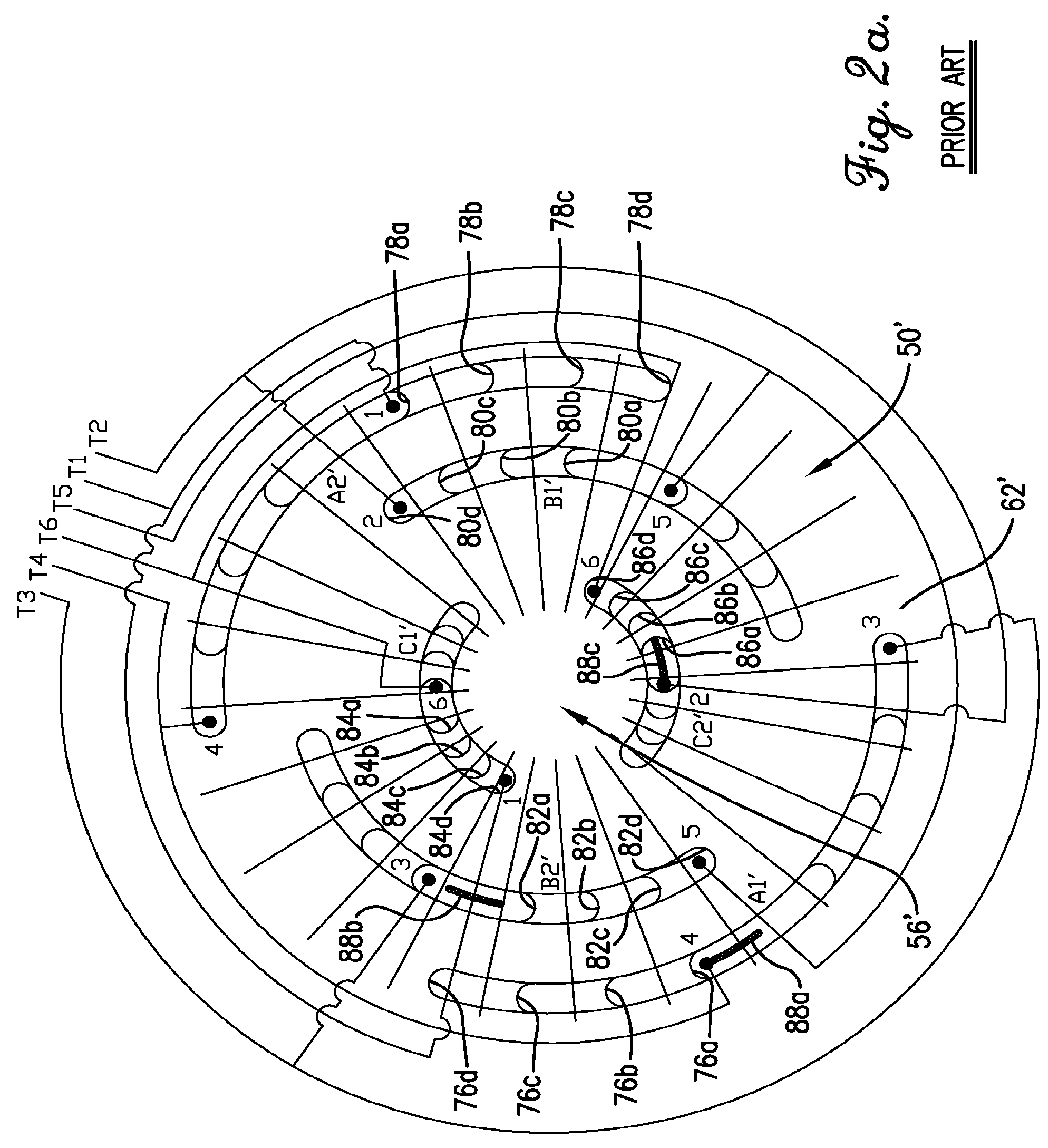asm phase diagram wiring 220v single motor patent us8564167 3t y winding connection for three