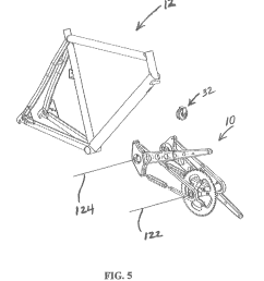 patent us8632089 mechanism for converting reciprocal  [ 1615 x 1911 Pixel ]