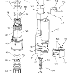 Kitchen Faucet With Side Sprayer Ikea Ideas For Small Kitchens Patent Us8646476 - Integrated Spray ...