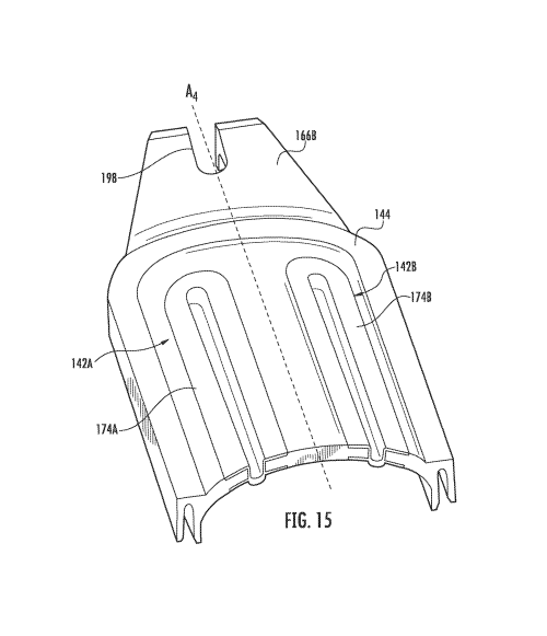 small resolution of patent us8755663 impact resistant fiber optic enclosures and patent usd597403 cable clip google patents on underground wiring cable