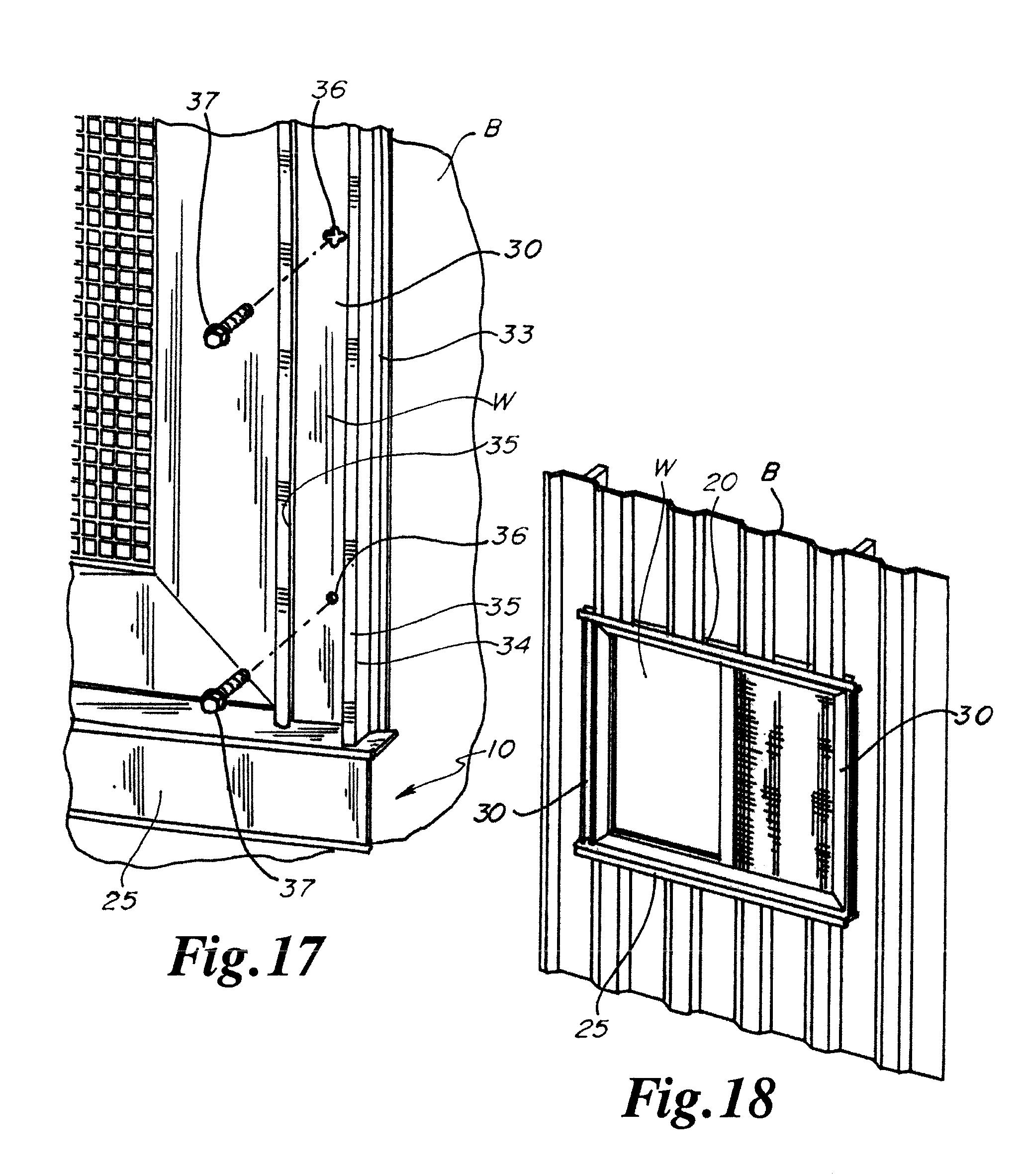 Corrugated Metal Siding Window Details