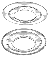 Patent USD469211 - Trim ring for ceiling light fixture ...