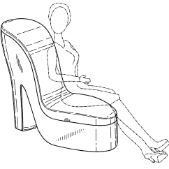 Chair Design Patent Reclining Theaters Usd519289 Shoe Google Patents